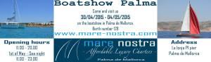 Boatshow Palma Tofinou Mare Nostra